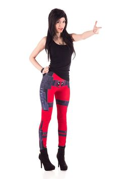 Mr. Wilson (Deadpool Leggings) (Medium) BACKORDER
