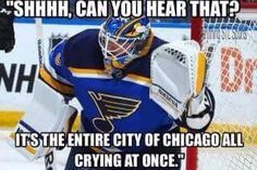 Congratulations to the St. Louis Blues on their big win against the Hawks. We never lost faith in you. LGB!!!!!!!!!