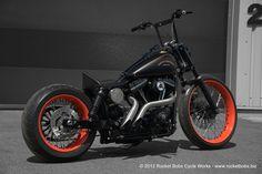 Custom Harley-Davidson Dyna Street Bob, CARLSBAD | Rocket Bobs