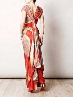 VIVIENNE WESTWOOD GOLD LABEL  Union Jack ball-tie dress (127443)