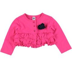 frilled cardigan cerise size: months *Selected stores only. Affordable Fashion, No Frills, 12 Months, Ruffle Blouse, Womens Fashion, Shopping, Tops, Women's Fashion, Woman Fashion