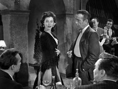 La Comtesse aux Pieds Nus. Ava Gardner et Humphrey Bogart