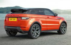 2015 Range Rover Evoque Autobiography Backside View
