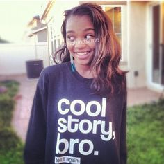 and china anne China Anne Mcclain Instagram, Dope Hairstyles, Famous Stars, Famous Women, Face And Body, Justin Bieber, Role Models, Cool T Shirts, Wicked