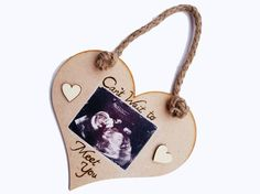 Hanging photo hearts photo transferred to wood pyrography Photo Transfer To Wood, Wood Transfer, Hanging Photos, Photo Heart, Pyrography, Branches, Hearts, Drop Earrings, Unique Jewelry