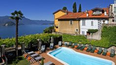 Times have changed since Queen Victoria stayed here in 1838. Hotel Royal Victoria on Lake Como, Italy, now offers two-person chromotherapy showers and Wi-Fi.