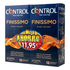Control finissimo 2x 12 preservativos promo