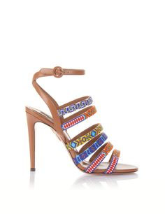 156b08bcbce Command attention in our colourful Masai Sandal. Crafted from supple  leather in modern cognac