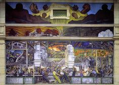An exhibit at the Detroit Institute of Arts will celebrate Mexican artist Diego Rivera, Frida Kahlo, and the year they spent in the city while he completed the Diego Rivera Art, Diego Rivera Frida Kahlo, Frida And Diego, Monuments, Jose Maria Velasco, Statues, Chaim Soutine, Rockefeller Center, Mural Painting