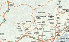 Bassano del Grappa Location Map