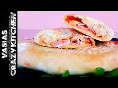Φανταστικα Καλτσονε Πιτσα Της Βασουλας – Καλτσονε Πιτσα Συνταγη - Ευκολη Ζυμη Για Καλτσονε Πιτσα - YouTube Camembert Cheese, Sushi, Ethnic Recipes, Food, Youtube, Essen, Meals, Yemek, Youtubers