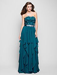 TS Couture® Prom / Formal Evening / Military Ball Dress - FloralApple / Hourglass / Inverted Triangle / Pear / Rectangle / Plus Size / Petite