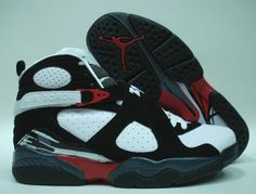 finest selection 8073e 23a85 Air Jordan 8 Retro White Black Red
