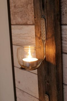 Wood Store, Bed Springs, Rustic Wood, Candle Sconces, Holiday Crafts, Diy Home Decor, Diy And Crafts, Candle Holders, Wall Lights