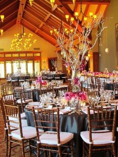 Sharon Heights Golf & Country Club, Menlo Park. Click http://MagnoliaJazz.com/blog to see helpful tips for planning wedding or party music in a setting like this.