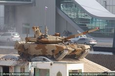 Newest Russian Battle Tank | The new Russian-made T-90MS main battle tank during the dynamic ...