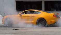 Ford Adds Line Lock to the EcoBoost Mustang for Perfect Burnouts