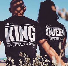 King and Queen.