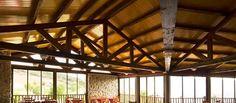 THERMOCHIP® TPyH, el panel sándwich con friso de pino barnizado. #panel #madera #arquitectura #wood #roof