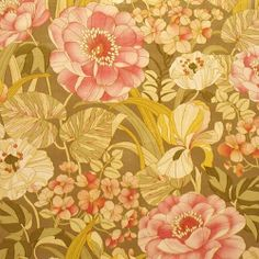 design traveller: Retro wallpapers: floral nostalgia  יש עוד, בסגנון דומה