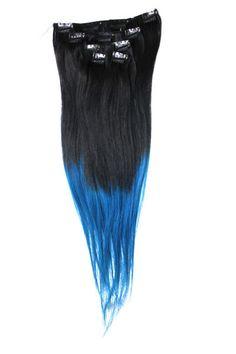 Clip-on 5-os 80g 20 -Black/Blue Slide