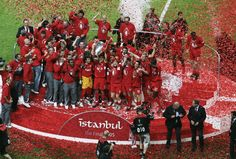 LIVERPOOL -- Champions League, ISTANBUL, TURKEY - MAY 25:  Liverpool managed to come back from 0-3, and won by penalty shootout against Italian, AC Milan. Captain Steven Gerrard showed heroic display. The best final.