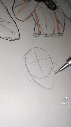 Arte Com Grey's Anatomy, Anatomy Art, Body Drawing Tutorial, Sketches Tutorial, Art Drawings Sketches Simple, Pencil Art Drawings, Digital Art Anime, Drawing Expressions, Art Inspiration Drawing