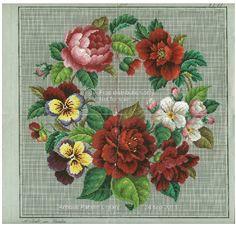 Cross Stitch Roses Vintage cross stitch pattern