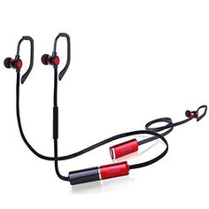 Special Offers - Bluetooth HeadphonesCoolcat Music Bluetooth Wireless Sports Gym Excercises Sweatproof Earbuds Noise Cancelling In-ear Headsets With replaceable battery With Mic for Smartphones Devices(Red&Black) - In stock & Free Shipping. You can save more money! Check It (July 17 2016 at 06:36PM) >> http://ift.tt/29EdhvN