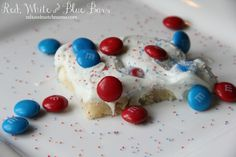 Red, White and Blue Bars are Mix and Match Mama's Bar #45