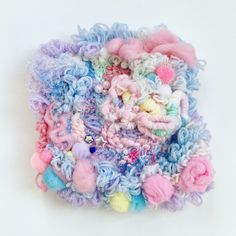 fiber ooze, 2017 mixed media embroidery on felt Textile Patterns, Textile Design, Diy Upcycling, Textiles Techniques, Textile Fiber Art, Weaving Textiles, Fabric Manipulation, Soft Sculpture, Embroidery Art