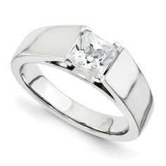 14kw Engagement Raw Casting Simple, yet gorgeous! Fortier Jewelers 262-878-9185