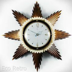 Metamec - English Sunray Clock