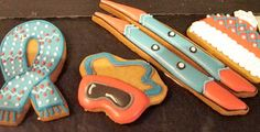 Chalet Vache Bleue Meribel more of the Skiing inspired hand decorated cookies.