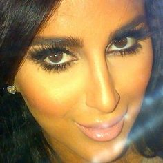 Lilly Ghalichi - her makeup is always so flawless and so well suited to her brown eyes