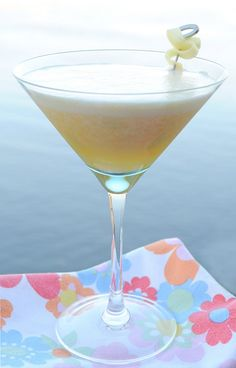 Luscious Ginger Pineapple & Mango Martini