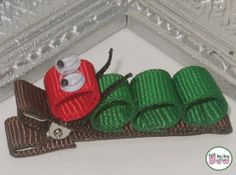 Hey, I found this really awesome Etsy listing at https://www.etsy.com/listing/166378307/ribbon-sculpture-very-hungry-caterpillar
