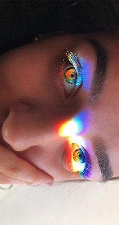 VSCO - Over 3 000 favorites and republishes lol miakiska Aesthetic Eyes, Gay Aesthetic, Rainbow Aesthetic, Aesthetic Photo, Aesthetic Pictures, Aesthetic Drawing, Makeup Aesthetic, Rainbow Photography, Eye Photography