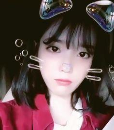 IU 😻 Iu Gif, Queen, Feel Tired, Korean Celebrities, Feeling Happy, Deep Purple, Hot Pink, Idol, Singer