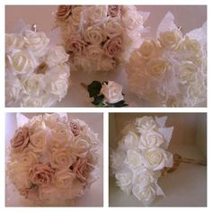 Rustic flower ideas by us at Balloon Decor  www.facebook.com/balloondecoressex  find all suppliers at www.facebook.com/weddingfinds