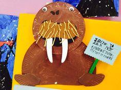 Θαλάσσιος ελέφαντας-ζώα υπό εξαφάνιση Summer Crafts, Earth Day, Paper Gifts, Invitations, Ecology, Projects, Environment, Student, Animals