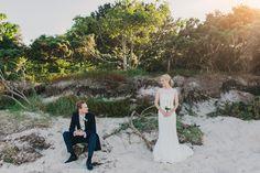 studland bay house wedding photography gorgeous dress