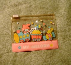 Vintage 80s MY MELODY Sanrio Wallet by muffinbiscuit on Etsy