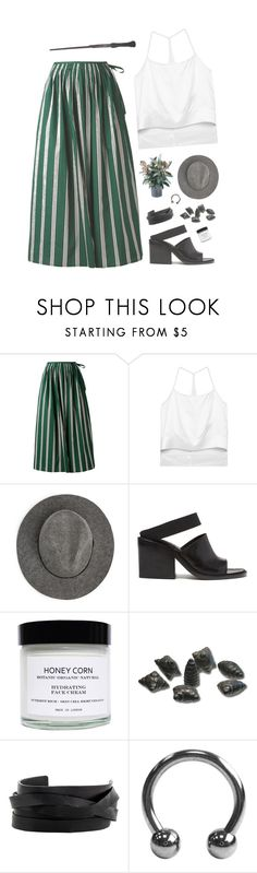 """""""Aquarius 2"""" by pantelle ❤ liked on Polyvore featuring Aspesi, Helmut Lang, MANGO, Honey Corn and Gucci"""