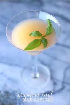 grapefruit basil mar
