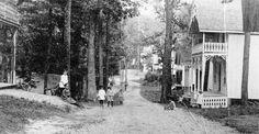 Grimsby Park street scene, 1888.