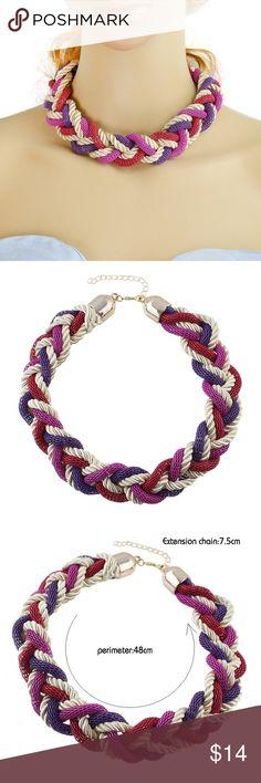 Braided rope necklace Braided rope necklace Jewelry Necklaces