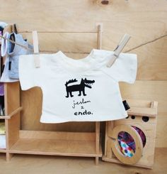 Koszulka dla małego Misia Endo