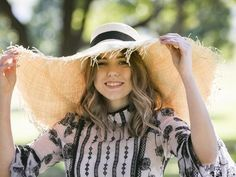 HATS are set to reach extreme proportions this spring, with straw brims so wide they could shade a small family. Big Fashion, Fashion Trends, Cowboy Hats, Lovers, Seasons, Style, Swag, Seasons Of The Year, Outfits
