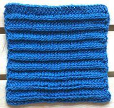 #111 Royal Ridge Crochet Dishcloth – Maggie Weldon Maggies Crochet